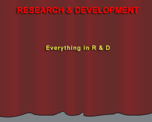 The Research & Developement